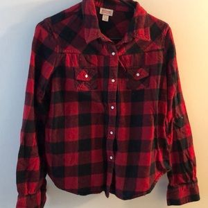Black and red checked flannel!